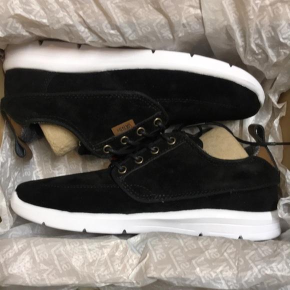 c693f9f694 Vans Brigata Lite S L Black White Casual Shoes 👟